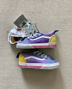 NWT Vans Old Skool Elastic Anderson Paak Ziti Toddler Sneaker 6.5T