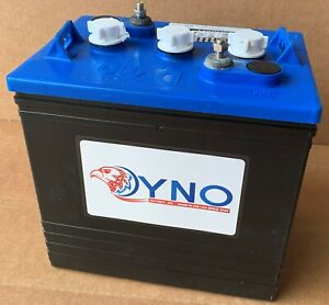 set of 6 x 6V 225AH  GOLF CARTS battery, Dyno D105(same size T105). Made in USA