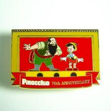 Disney DSF Pin Pinocchio 70th Anniversary Stromboli and PInocchio LE 300 OC