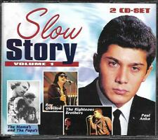 COFFRET 2 CD 30T SLOW STORY ANKA/RIGHTEOUS BROTHERS/PLATTERS/ORBISON/F.R DAVID