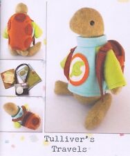 PATTERN - Tulliver's Travels- cute softie/toy PATTERN by Frazzy Dazzles