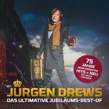 JÜRGEN DREWS - Das ultimative Jubiläums-Best-Of, 1 Audio-CD