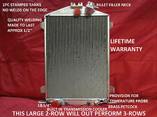 1932 FORD HI/HIGH BOY STREET/RAT ROD ALUMINUM RADIATOR LIFETIME WARRANTY