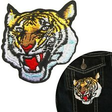 Tiger head Iron on patch - tigers predator embroidery iron-on transfer patches