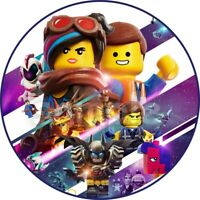 The Lego Movie 2 Muffinaufleger Tortenaufleger Party Deko Figuren Emmet Lucy rex