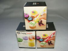 3 NEW KUHN RIKON FROSTING CONTAINERS FOR FROSTING DECO PEN 25602