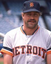 1985 Detroit Tigers KIRK GIBSON Glossy 8x10 Photo Baseball Print Poster