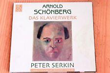 Schönberg - Pièces Clavier op 11, 19, 23, 33 & 25 - Peter Serkin - CD Arcana