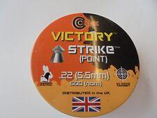 Victory Strike señaló Pellets .22/5.5 Mm x 50