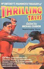 McSweeney's Mammoth Treasury of Thrilling Tales Chabon King Gaiman Hornby Eggers