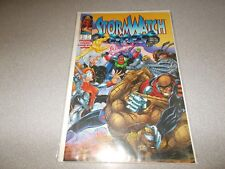 Image Comics StormWatch January number 32 comic book very good condition