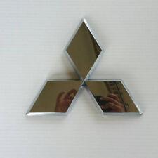 Chrome Rear Back Logo Emblem For Mitsubishi Triton Plus L200 Pick Up UTE