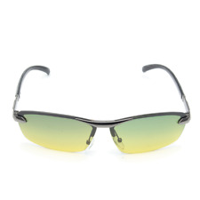 Mens Polarized Sunglasses Day Night Vision UV400 Eyewear Driving Pilot Sun Glass