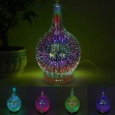 Air Diffuser Large Colorful Firework Essential Oil Mist Humidifier Aromatherapy
