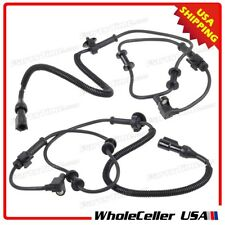2x Front ABS Wheel Speed Sensor For 1999-2004 Ford F-450 F-550 Super Duty 5S6024