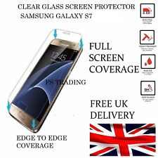 100% Genuine Tempered Glass LCD Screen Protector Film For Samsung Galaxy S7