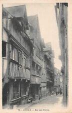 Lisieux rue aux féves