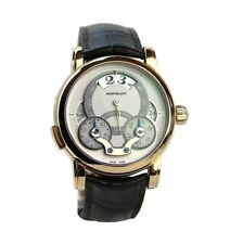 MONTBLANC NICOLAS RIEUSSEC AUTOMATIC SOLID 18K GOLD WATCH 108789 NEW BOX $35.100