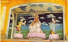 TAMARIX & TWO DISCIPLES STATUES~BUDDHIST RELIGION POSTCARD