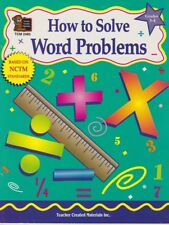 HOW TO SOLVE WOLD PROBLEMS Grades 3-4 Math Workbook Robert Smith UNUSED