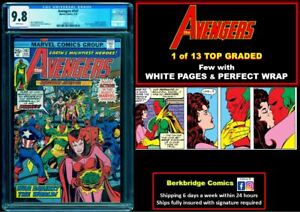 🔥 1 OF 13 AVENGERS #147 CGC 9.8 WHITE PAGES 🔥 LAST AUCTION PRICE $281