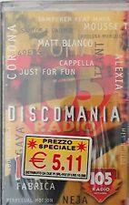 Discomania Mix 14 Radio 105 RTI MUSIC Mc Cassette Tape Sealed