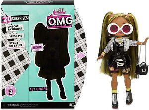 LOL Surprise OMG Alt Grrrl Fashion Doll With 20 Surprises NEW!
