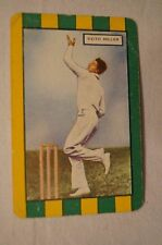 1953 - Vintage - Coles Cricket Card - Australian Cricketers - Keith Miller