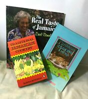 3 Jamaican Caribbean Recipe, Cookery Drinks Books by 3 experts