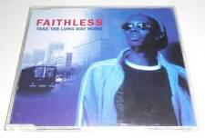 FAITHLESS - TAKE THE LONG WAY HOME - 1998 UK 4 TRACK CD SINGLE