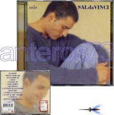 """SAL DA VINCI """"SOLO"""" RARO CD 1998 FUORI CATALOGO"""