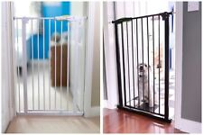 Venture  Pet Or Baby Extra Tall Safety Stair Gate 75-84 Wide x 110cm Tall