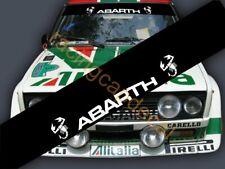 Fiat ABARTH Scorpion Windshield Sun strip Visor banner Decal Sticker 500 695 131