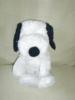 """Hallmark Peanuts 15"""" Plush Floppy Snoopy Dog - Happiness Is a Warm Puppy Beans"""