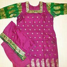 Indian Pakistani Bollywood Shalwar Kameez 3pc Stitched Suit Asian dress size L