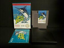 Blue Marlin (Nintendo Entertainment System, 1992) NES Complete Boxed CIB