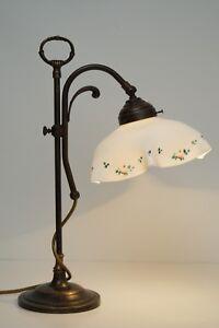 Romantic Art Nouveau Reading Light Brass Lamps Berlin Table Lamp Cottage