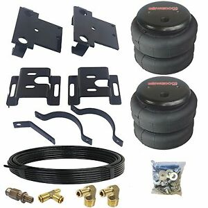 No Drill Tow Assist Over Load Bag Air Suspension Kit For 01-10 Chevy 2500 Truck