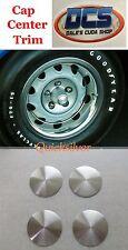 1970 71 Dodge Rallye Wheel Correct Satin Center Cap NEW MoPar set of 4