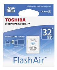 Toshiba Wireless SDHC 32GB Flash Air Class 10