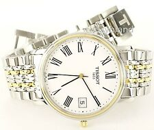 Tissot T52248113  Swiss Quartz Desire Men's Watch, Two Tone Bracelet - NEW