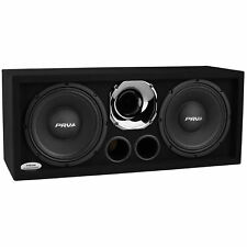"PRV Audio 210A-290 Chrome Dual 10"" Loaded Full Range Chuchero Enclosure"