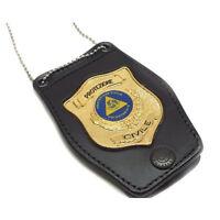 Porta Placca Vega Holster a collana 1WB115 Protezione Civile da collo Distintivo
