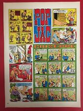 MC19 JACOVITTI - POP JAC GIUSEPPE 38x28 cm fumetto comics ritaglio clipping