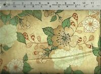 QT ~ Manor House Panel Floral Coordinate 26396-A ~ 100% Cotton Quilt Fabric BTY