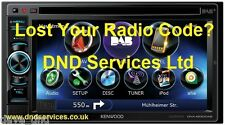 Kenwood Radio Code Decode Unlock Codelocked ? DNX 4230 DAB