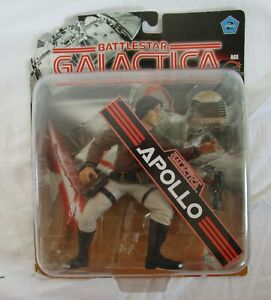"Battlestar Galactica by Joyride APOLLO 6"" Figure on Card, opened"