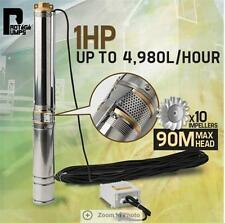 83L/min  Protege Submersible 1HP Deep Well Bore Water Pump Water Depth of 88m