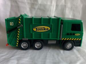 "Vintage 2002 TONKA Funrise RECYCLING Sanitation Garbage Truck LIGHT SOUND 13"""