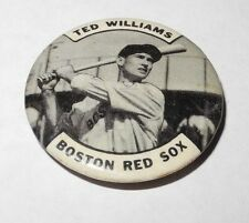 1950's Baseball Stadium Team Pin/Coin/Button Ted Williams Boston Red Sox Pinback